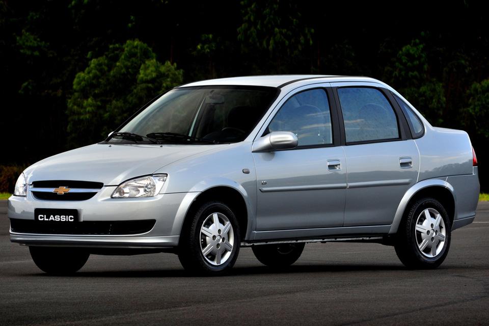 Carros mais baratos do Brasil: Chevrolet Corsa Classic
