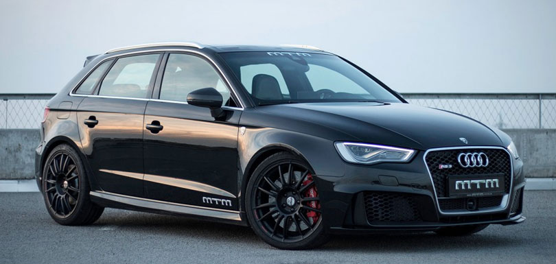 Audi RS3 Sportback preto