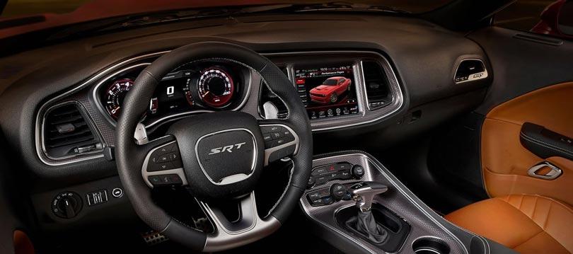 Dodge Challenger Hellcat interior