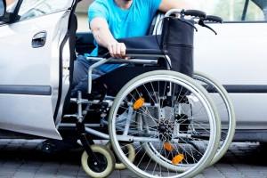 Carro adaptado para cadeirantes