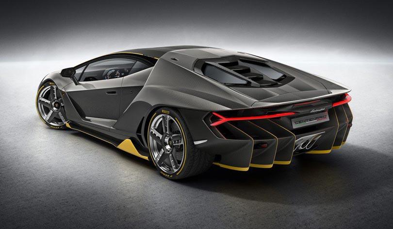 Lamborghini Centenario traseira