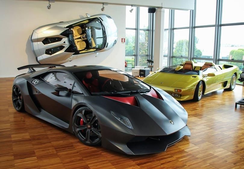 Lamborghini Sesto Elemento Museu