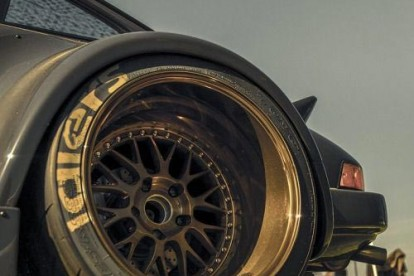 Roda esportiva carro de corrida