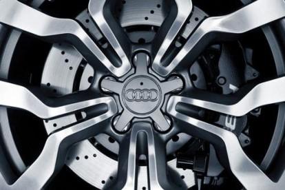 Roda esportiva Audi cromada