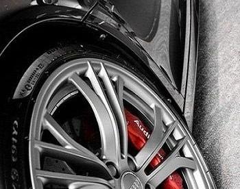 Roda esportiva para Audi preto