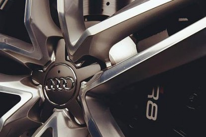Roda esportiva do Audi