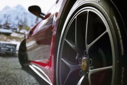 Roda esportiva Ferrari Itália