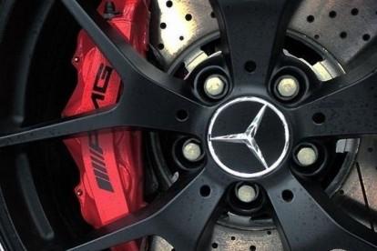 Roda esportiva Mercedes