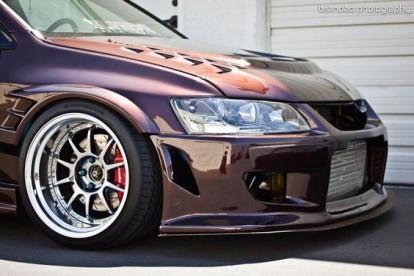 Roda esportiva Mitsubishi Lancer EVO