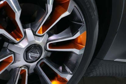 Roda esportiva Nissan