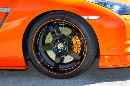 Roda esportiva Nissan GTR