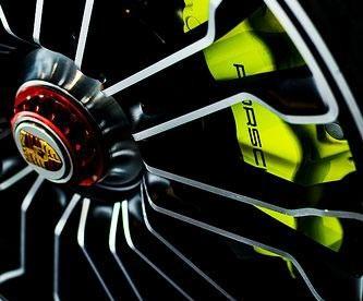 Roda esportiva para Porsche