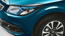 Chevrolet Onix 2017 farol