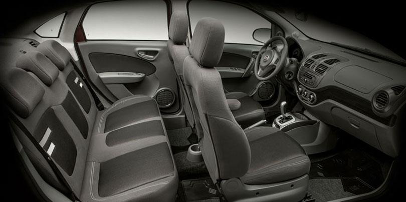 Fiat Grand Siena 2017 interior