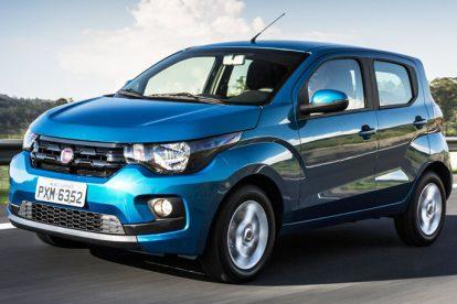 Fiat Mobi 2017 azul