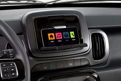 Fiat Mobi 2017 central multimídia