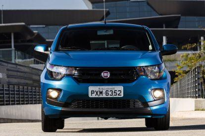 Fiat Mobi 2017 frente