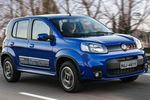 Novo Fiat Uno 2017 azul