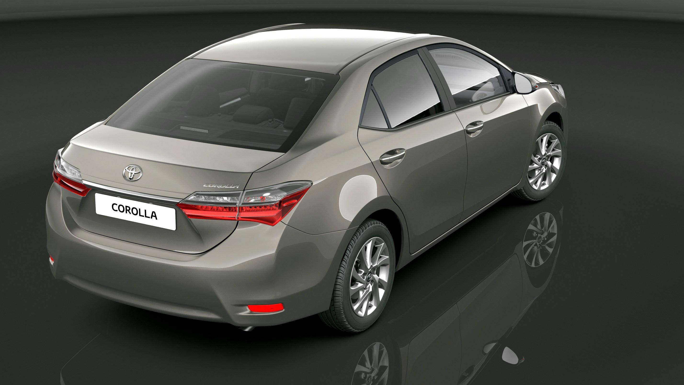 Toyota Corolla 2017 traseira