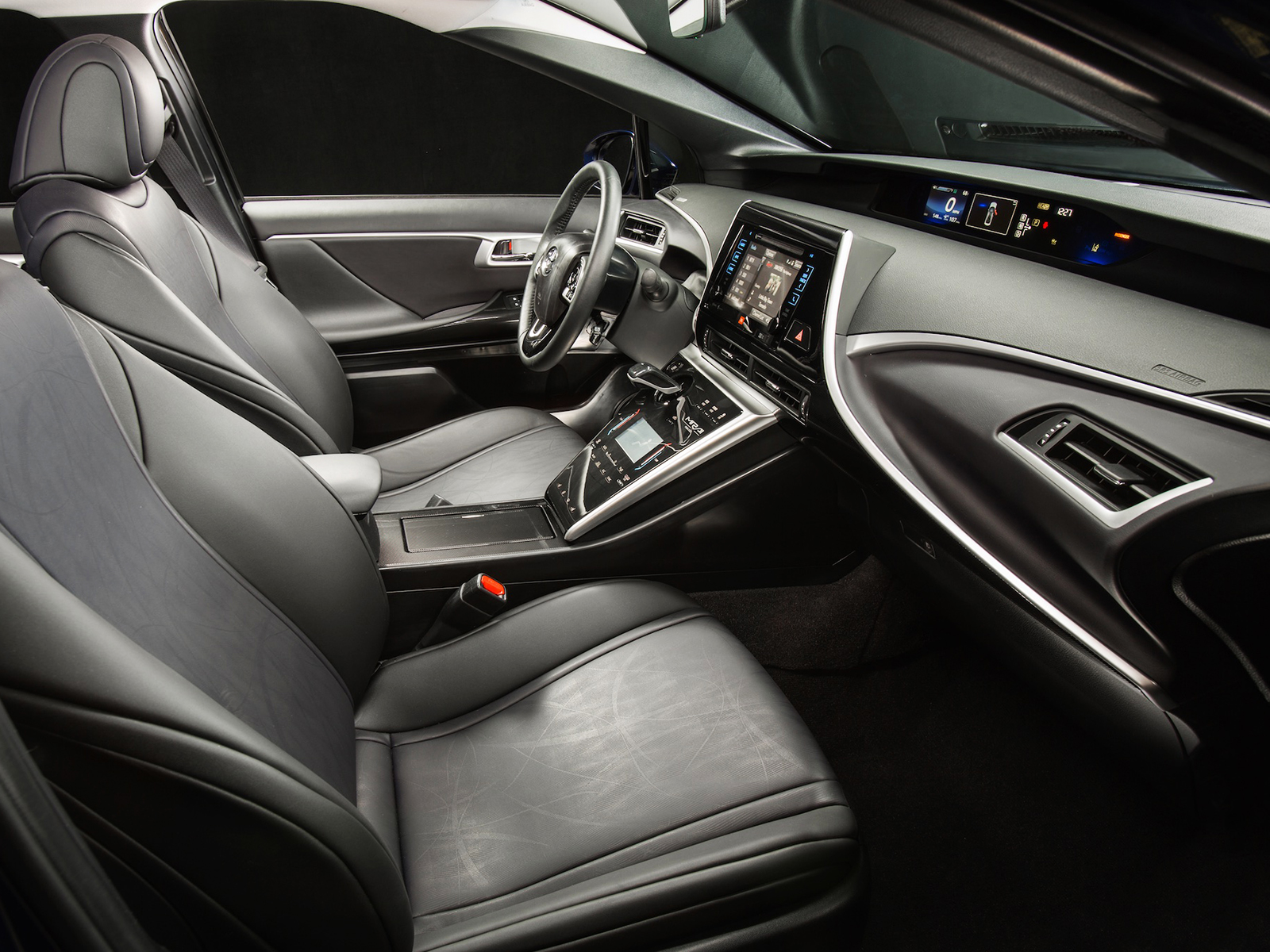Toyota Mirai: Interior do carro