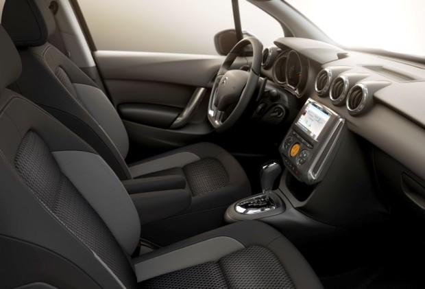 Citroen C3 2017 interior