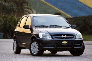 Chevrolet Celta 2008 Preto