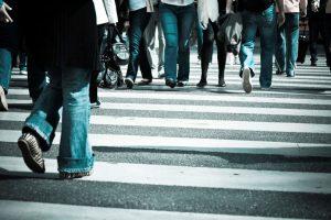 História da faixa de pedestres