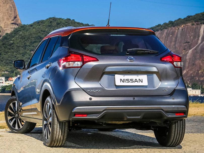 Nissan Kicks 2017 traseira