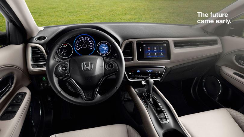 Honda HRV 2017 interior
