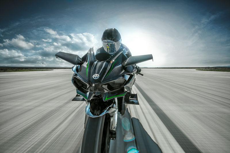 Motos esportivas: Kawasaki H2R