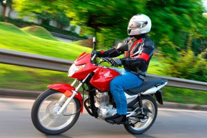 Motos com motor flex