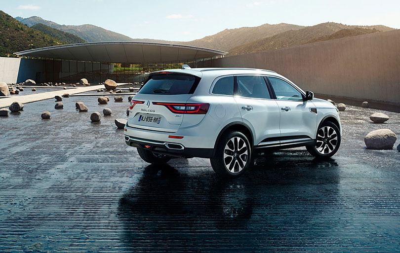 Renault Koleos 2017 traseira