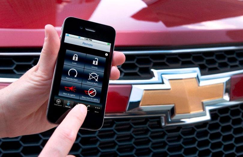 Chevrolet Onstar aplicativo