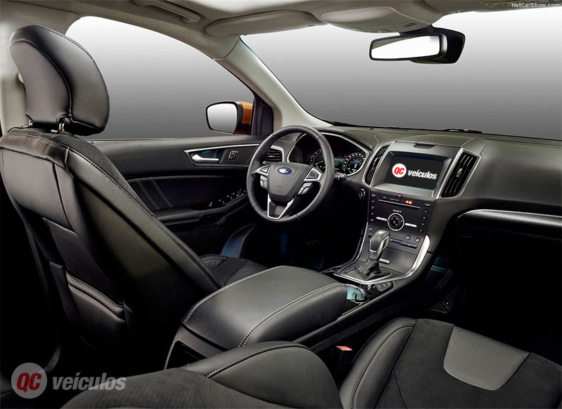 Ford Edge 2017 interior painel foto