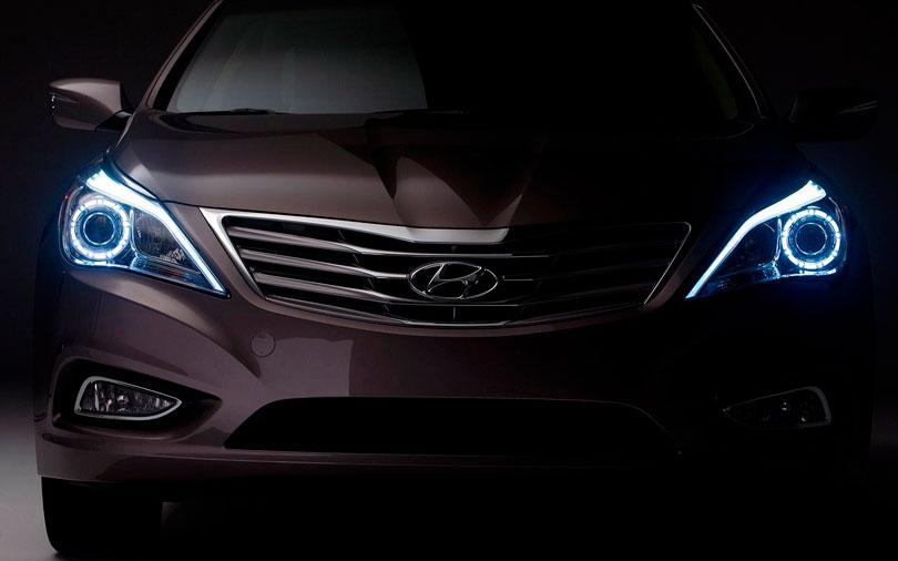 Hyundai Azera 2017 frente