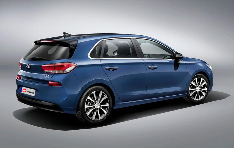 Hyundai i30 2017 - Traseira