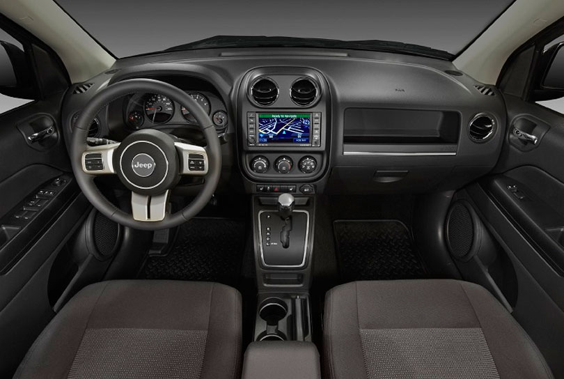 Jeep Compass 2017 interior