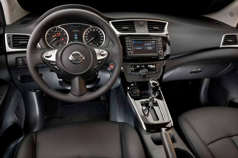 Nissan Sentra 2017 interior painel