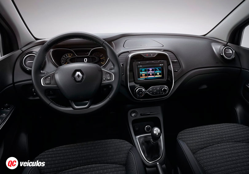 Renault captur 2017 an lise lan amento pre o e fotos for Interior renault captur