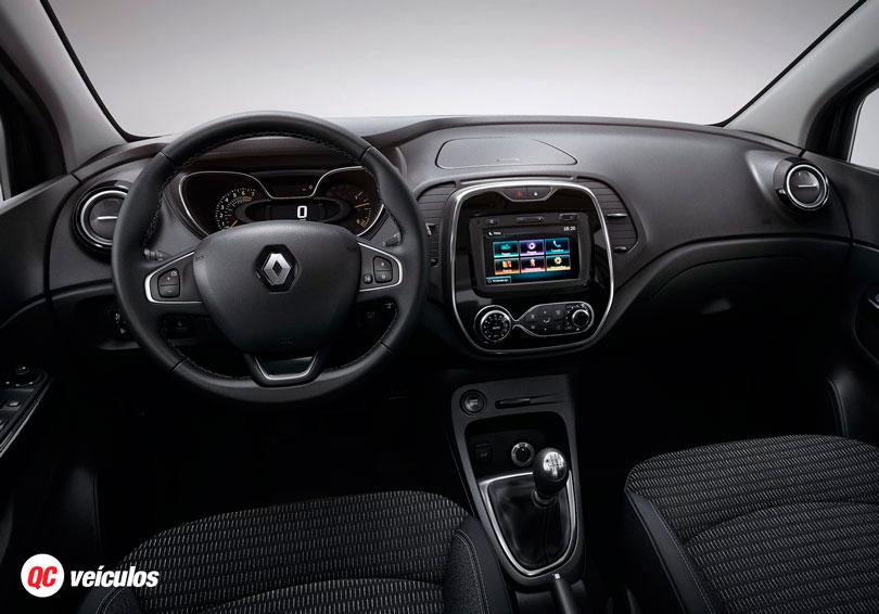 Renault Captur 2017 Interior painel