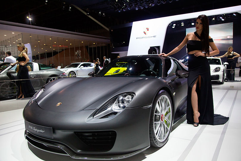Salão do Automóvel 2016 Porsche