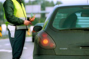 Valores e pontos das multas