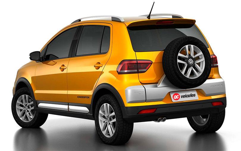 Volkswagen Crossfox 2017 - Traseira
