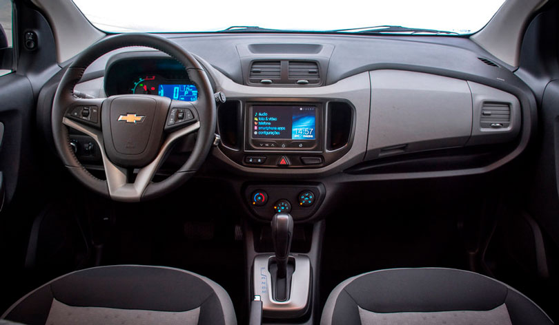 Chevrolet Spin 2017 - Painel