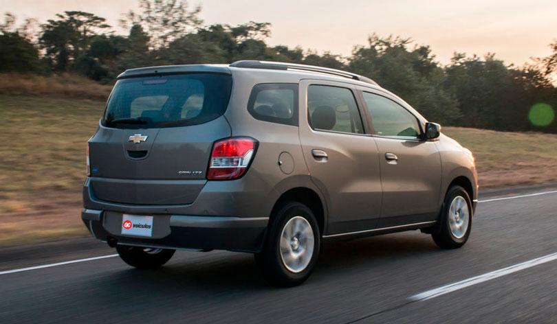 Chevrolet Spin 2017 - Traseira
