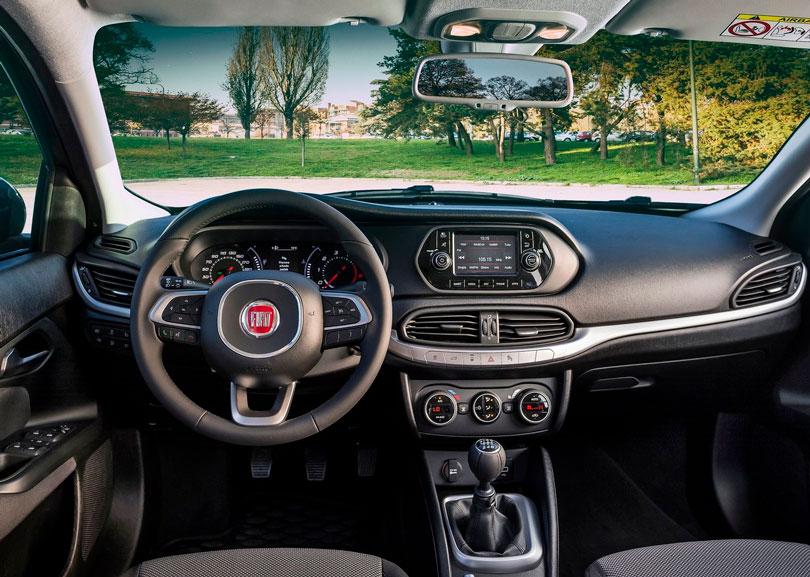 Fiat Tipo 2017 - Interior e painel