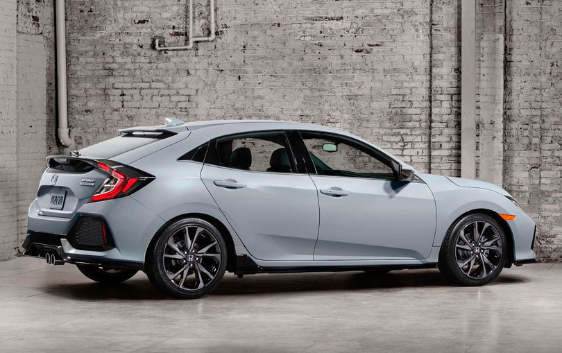 Honda Civic Hatchback 2017 - Traseira