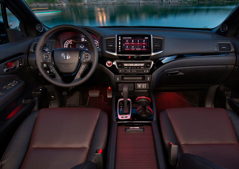 Honda Ridgeline 2018 - Painel e interior