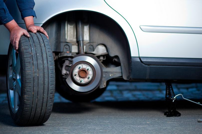 Rodízio de pneus