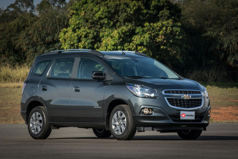 Chevrolet Spin 2018: Análise, lançamento, motorização e fotos